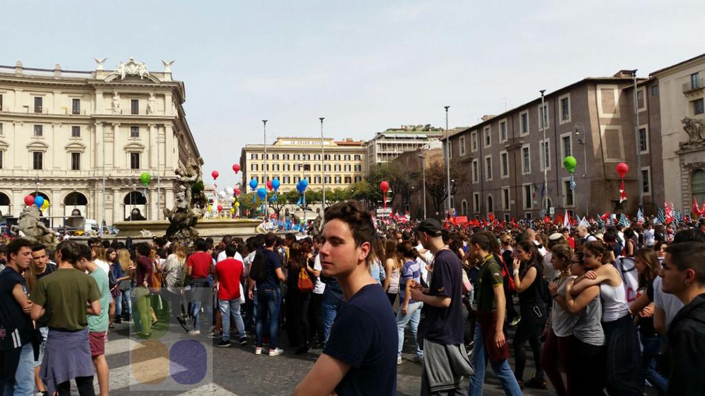 scuola roma live