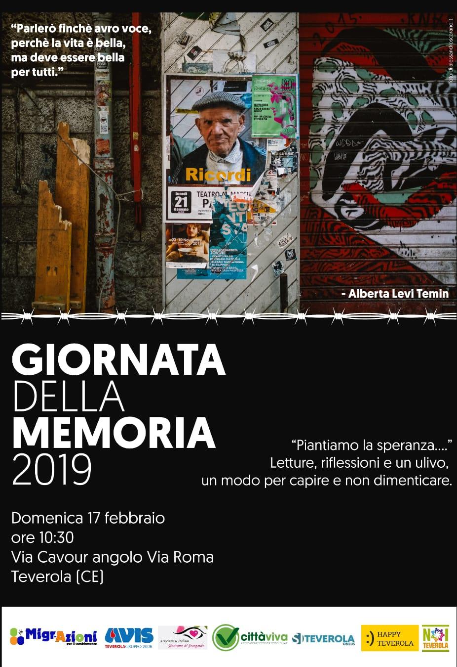 Giornata della Memoria 2019: Il Manifesto delle associazioni