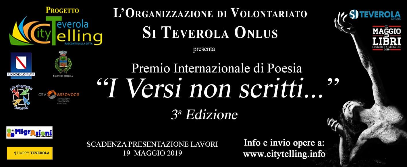 """Migr-Azioni per l'arte. Terza edizione del Concorso Internazionale di Poesia """"I versi non scritti…"""""""