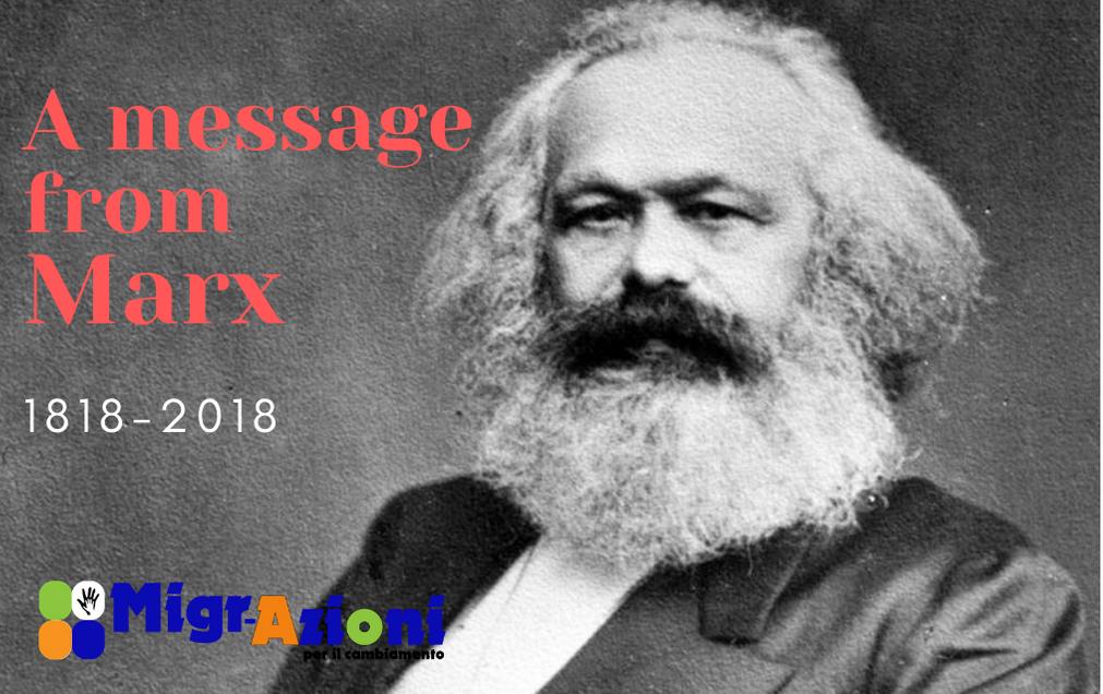 La nostra tessera del 2018 - A MESSAGE FROM MARX -